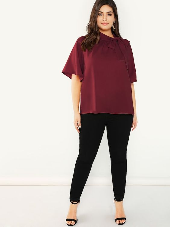 Business Outfit Fur Mollige Frauen 2019 Mode Fur Mollige Frauen