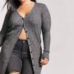 Junge Mode in Großen Größen - Winter Stil von Silber Outfits