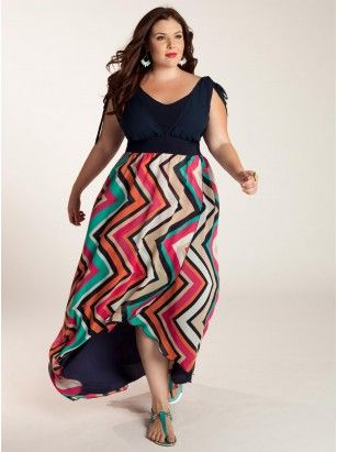 9 Große Größe Maxikleid Outfit Ideen