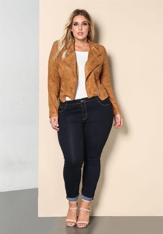 Beste Winter Outfits für Frauen Große Größe