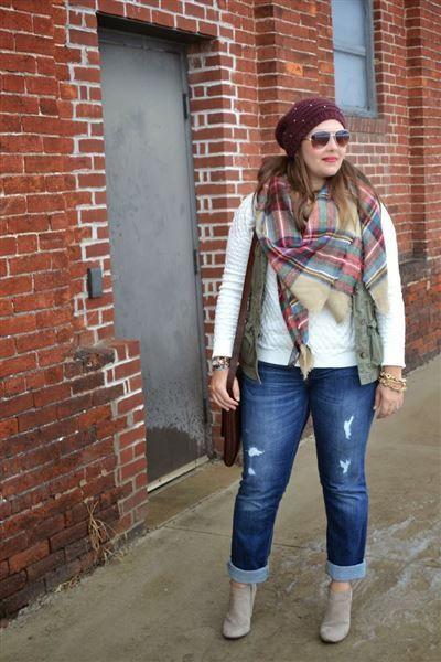 Elegante Herbst Winter Große Größe Outfits