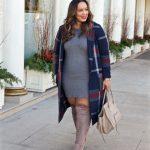 Elegante und Schicke Winter ausstattungen für Mollige Damen