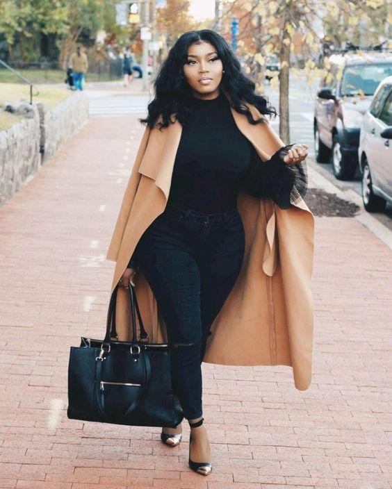 Große Größe Frauen tragen in diesem Winter Outfits