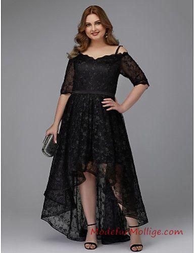 huge discount 86442 fc2b1 Große Größen Vokuhila Kleider für Hochzeitsgäste 2019 | Mode ...