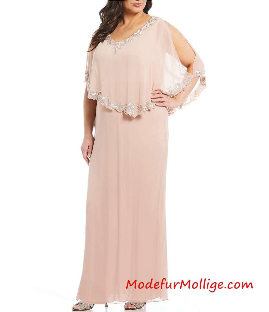 Große Größen Brautmutterkleider Aus der Schulter Perlen Mieder Spitzenkleid; Besticktes Pailletten Spitzenkleid