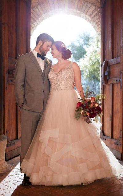 Große Größe Boho Hochzeit Abendkleider