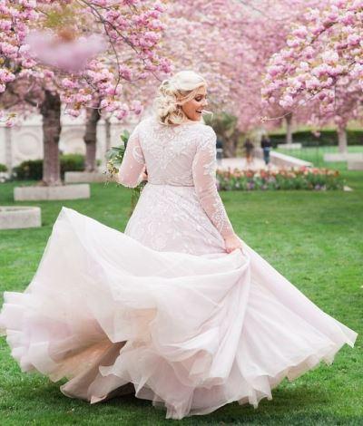 Große Größe Brautkleider