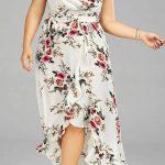 Styling Tipps für Mollige Frauen - Kleid mit Blumenmuster