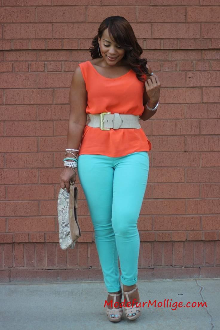 Große Größe Sommermode Outfit Ideen