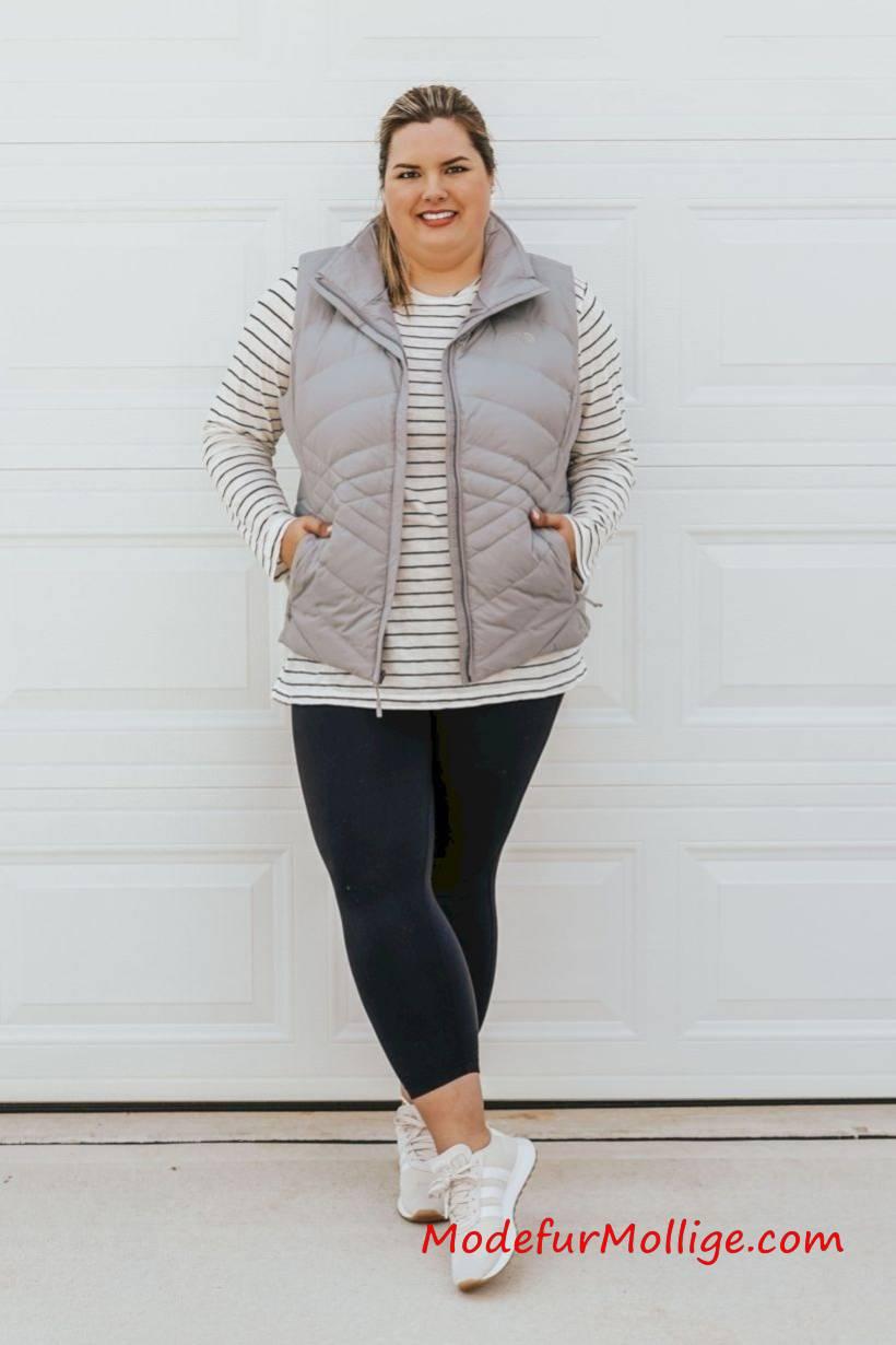 Wunderbare große Größe outfit ideen für herbst winter
