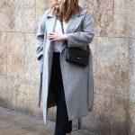Winter outfits für mollige Frauen Grau lange Mäntel Winter Outfits in große größe für mollige Frauen