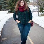 Winter outfits für mollige Frauen Lässiges Outfit für Mollige Damen