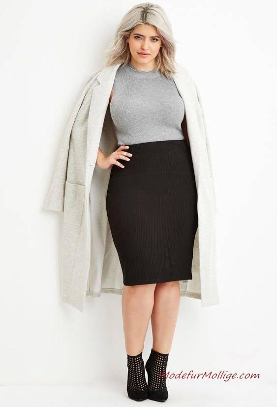 Wirklich süße Winter Outfits Ideen für Mollige Damen 2020