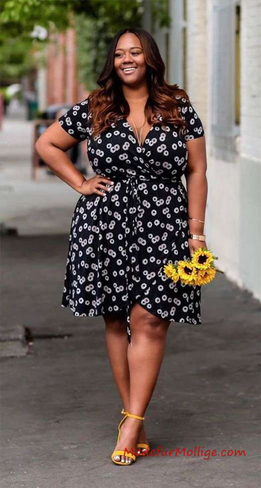 12 Sommeroutfits in Übergröße mit Kleidern