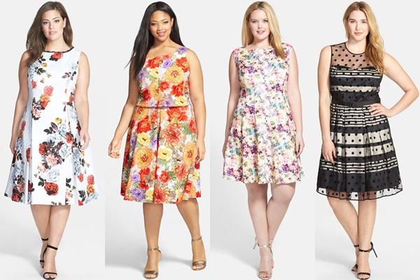 Abendmode: Große Größe Hochzeitsgast Kleider | Mode für ...