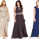 Abendmode: Große Größe Hochzeitsgast Kleider