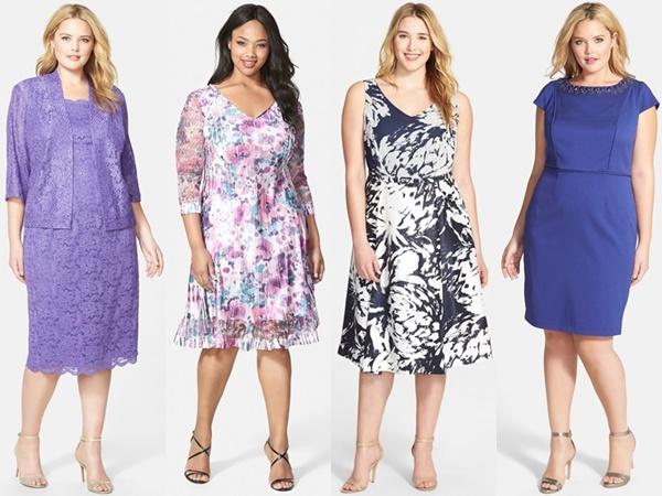 Abendmode: Große Größe Hochzeitsgast Kleider   Mode für ...
